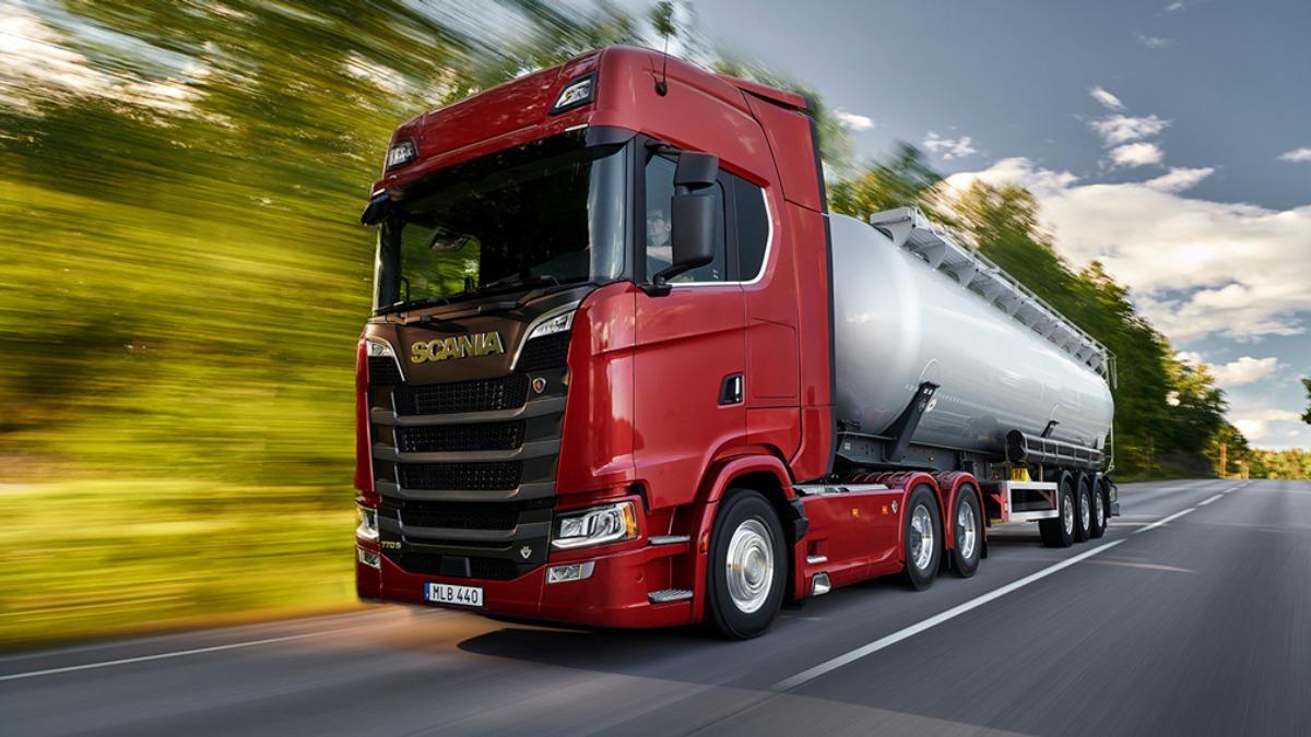 Новий тягач Scania 770S