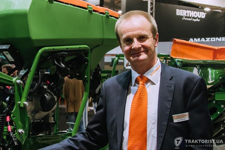 Йєнс Майснер, менеджер з експорту компанії Amazone