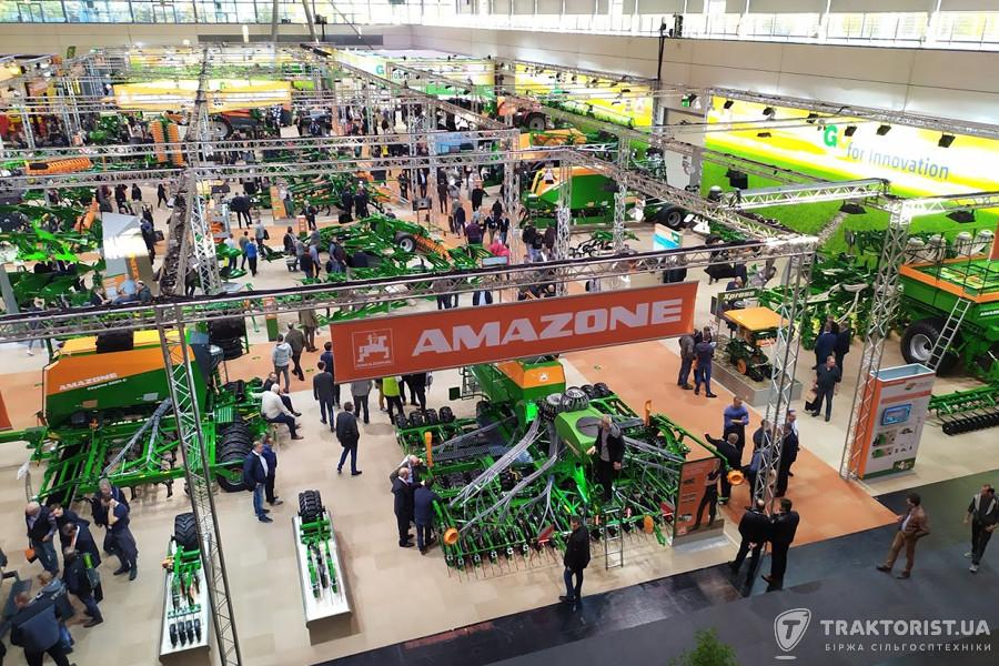 Стенд Amazone на Agritechnica 2019