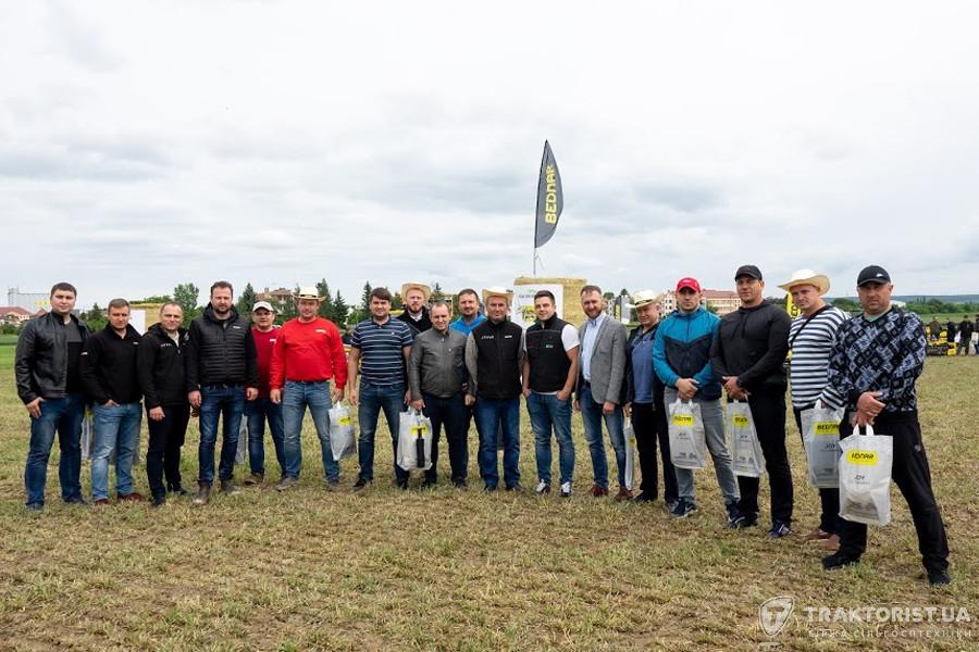 Українська делегація на Дні поля Bednar 2019
