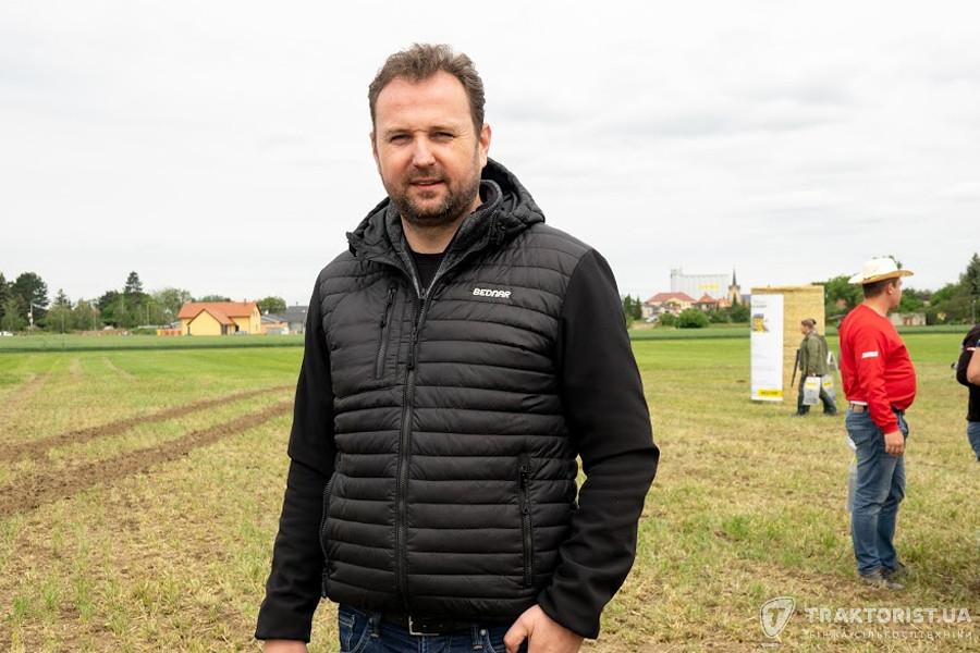 Ян Беднар, комерційний директор Bednar