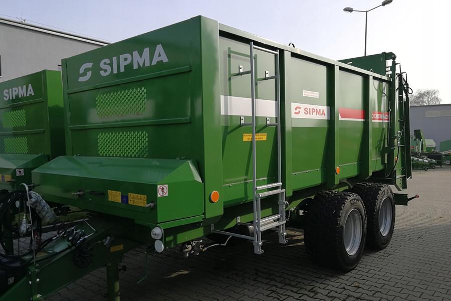 Розкидач SIPMA RO 1200 TORNADO (джерело: allegro.pl)