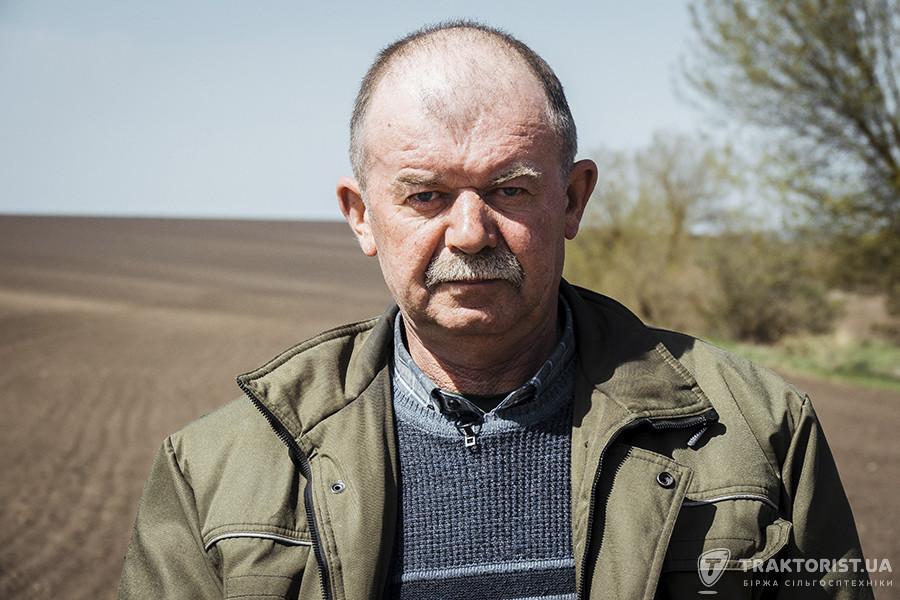 Ярослав Господарський, головний агроном ТОВ «Україна»