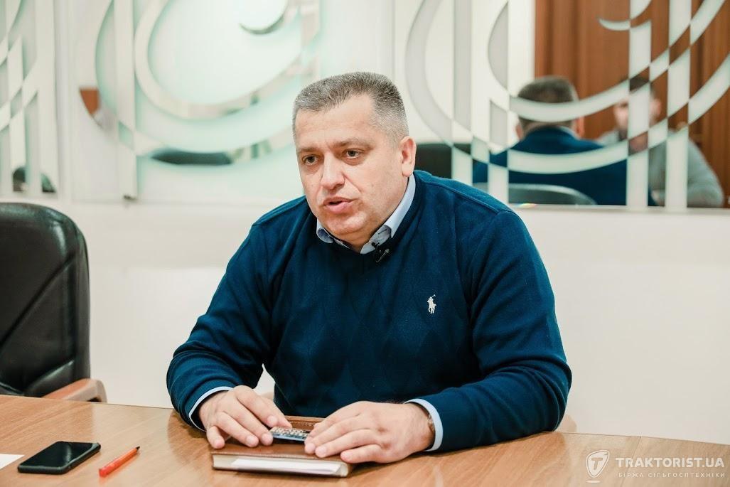 Головний інженер агрогрупи «Агрейн» Михайло Шкатула