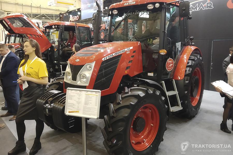 Новий трактор Zetor Proxima 110 Plus компанія «Агро Темп»