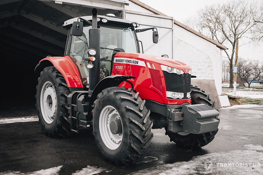 Трактор Massey Ferguson 7722