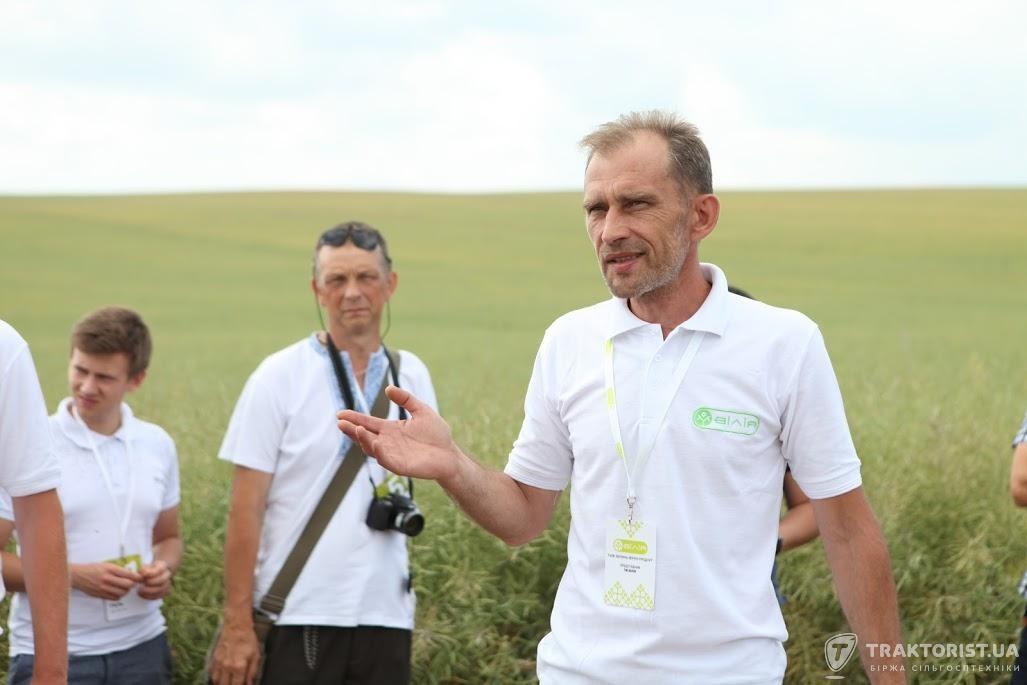 Віталій Хінцінский, заступник директора з постачання ЗЗР, добривами, насінням «Волинь-зерно-Продукт»