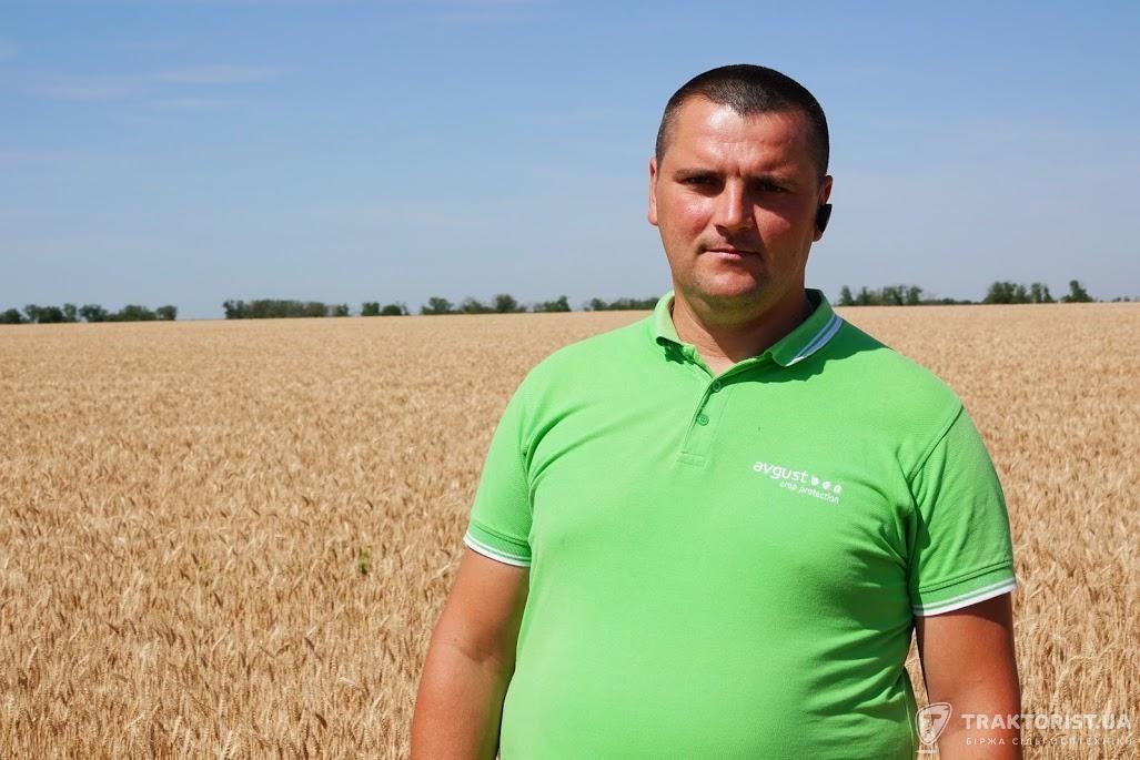 Олег Земсков, регіональний представник компанії «Август-Україна» в Миколаївській області
