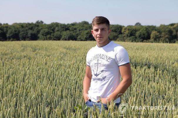 Дмитро Синиця, головний агроном ФГ «Земля»
