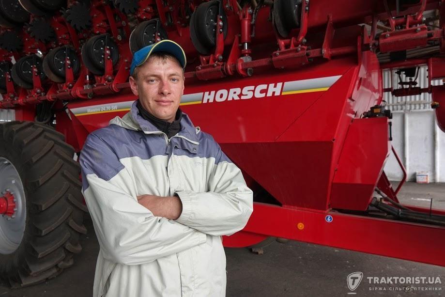 Головний агроном Владислав Кривченко