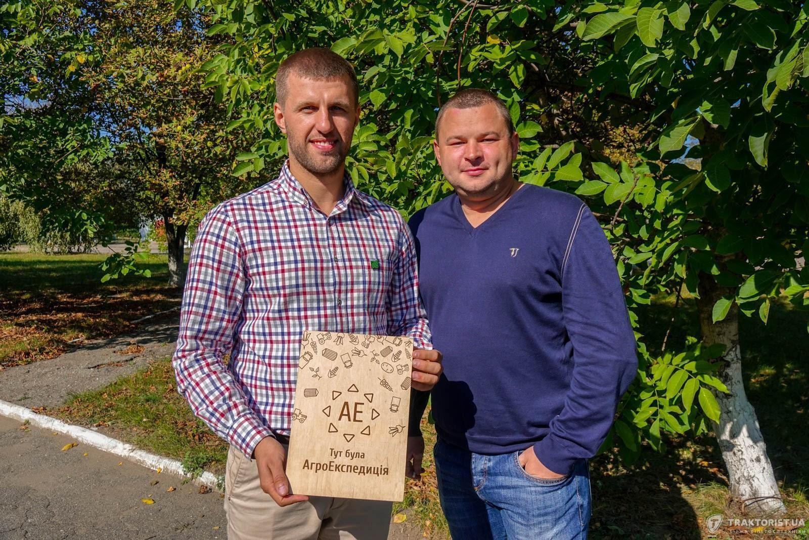 Микола Байбарак (зліва) та Костянтин Супрун