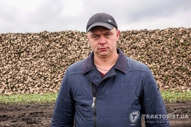 Головний агроном «Агроспецсервіс» Андрій Кушніренко