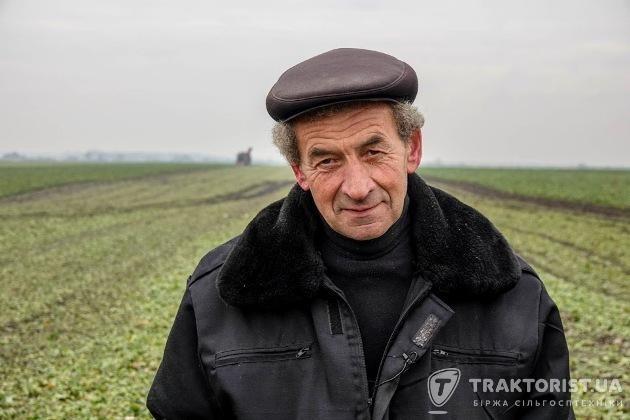 Іван Дрипка, головний агроном ПП «Дзвін»