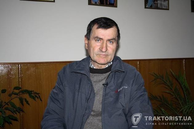Валерій Стоїловський головний інженер «Агрофірми Медобори»