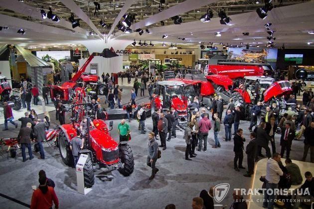 Стенд AGCO на Agritechnica 2015