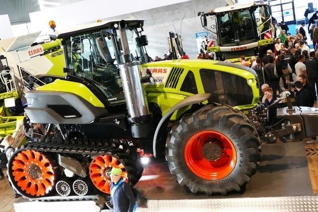Напівгусеничний трактор Claas Axion 960 Terra Trac