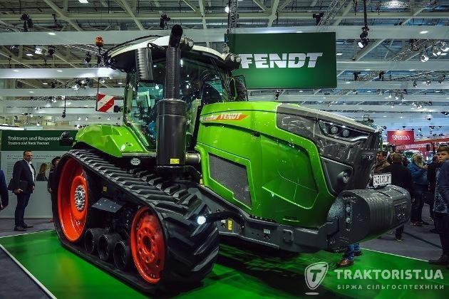 Гусеничний трактор Fendt 943 Vario MT