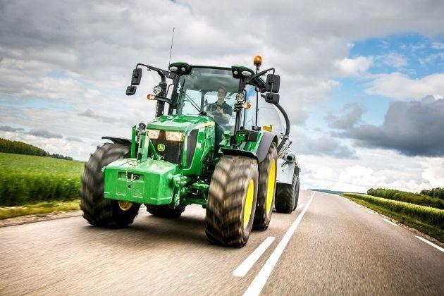 Трактор John Deere 5R