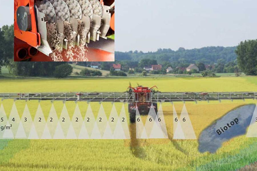 Система дозування MultiRate від Rauch (джерело: agritechnica.com)