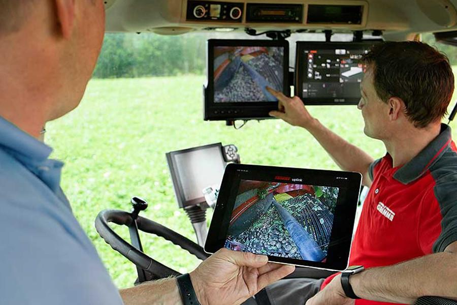 Моніторингу процесів очищення та сортування на картоплекомбайнах SmartView від Grimme (джерело: agritechnica.com)