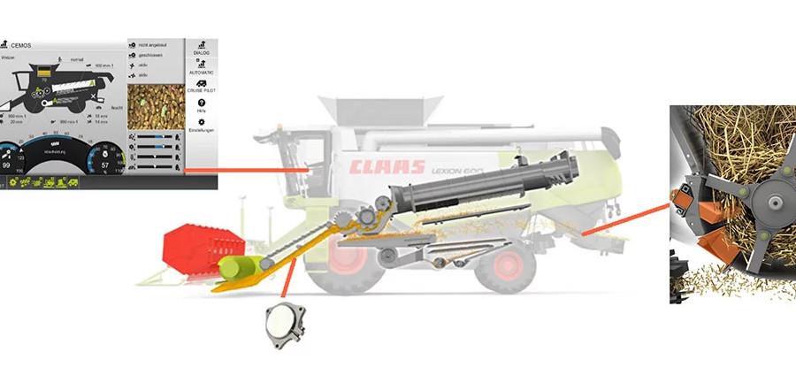 Система Cemos Auto Chopping (джерело: agritechnica.com)