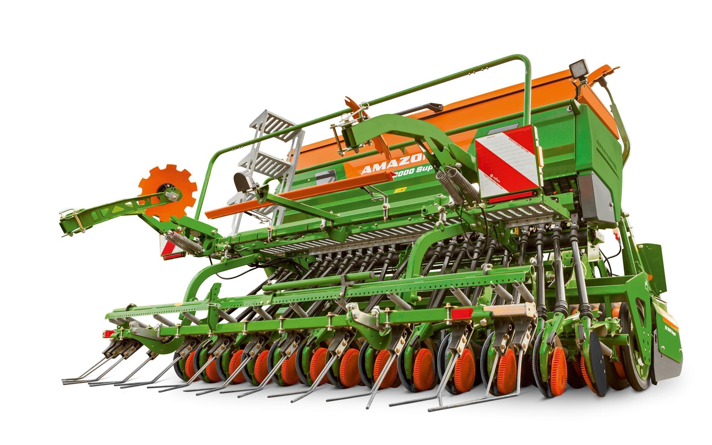 Оновлений посівний комплекс Amazone Cataya Super оснащений однодисковими сошниками RoTeC-Control
