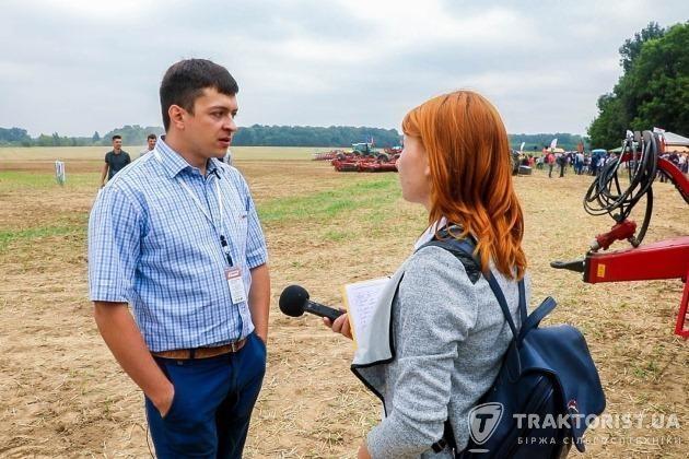 Керівник відділу точного землеробства в АБА «АСТРА» Максим Романовський