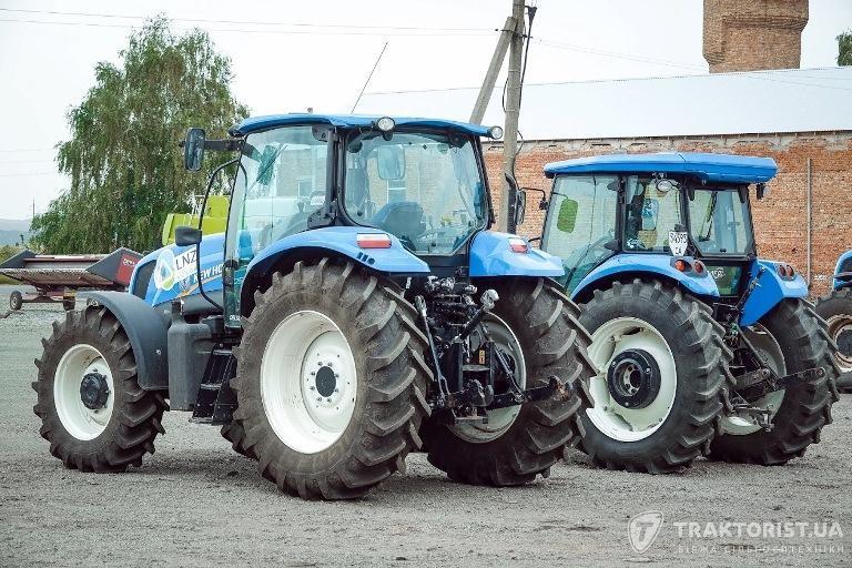 Трактори New Holland в техпарку LNZ Group