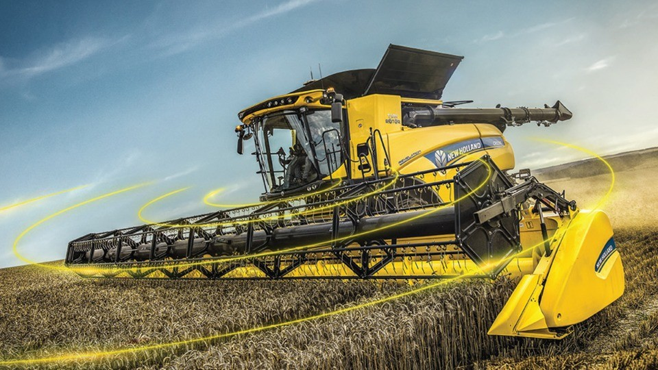 New Holland CR Revelation оснащений системою IntelliSense