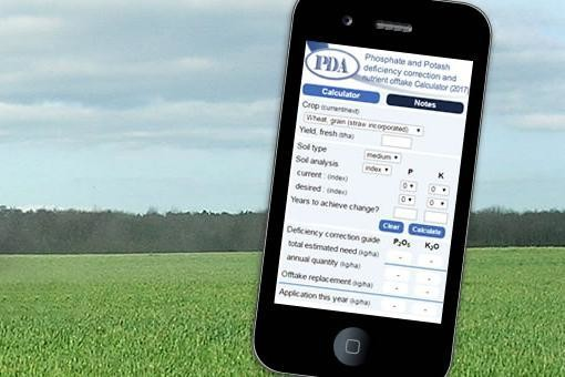 PDA (Potash Development Association) PK Calculator