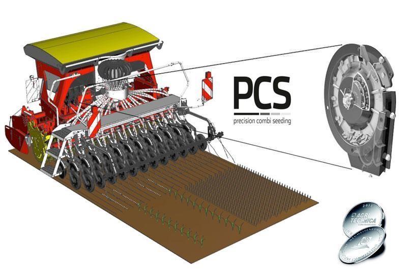 Pöttinger PCS (Precision Combi Seeding)