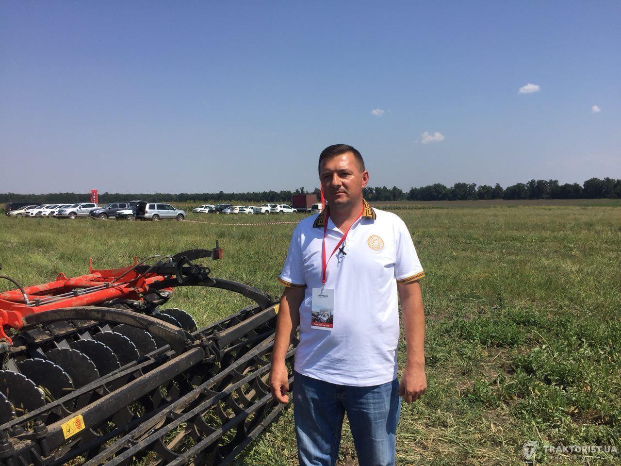 Голова господарства «Україна» Руслан Кривовид