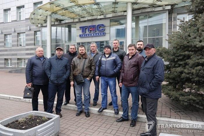 Представники Штабу захисту фермерів