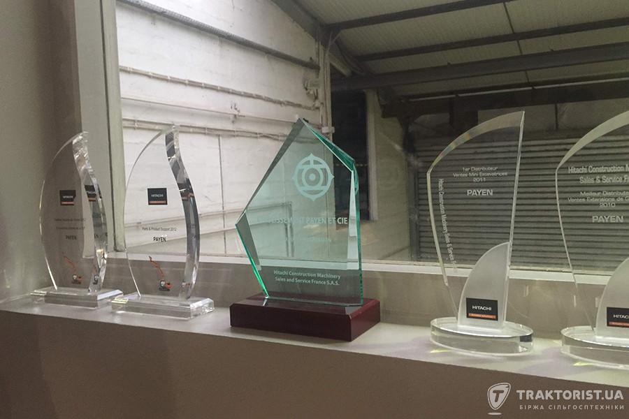 Нагороди компанії Payen