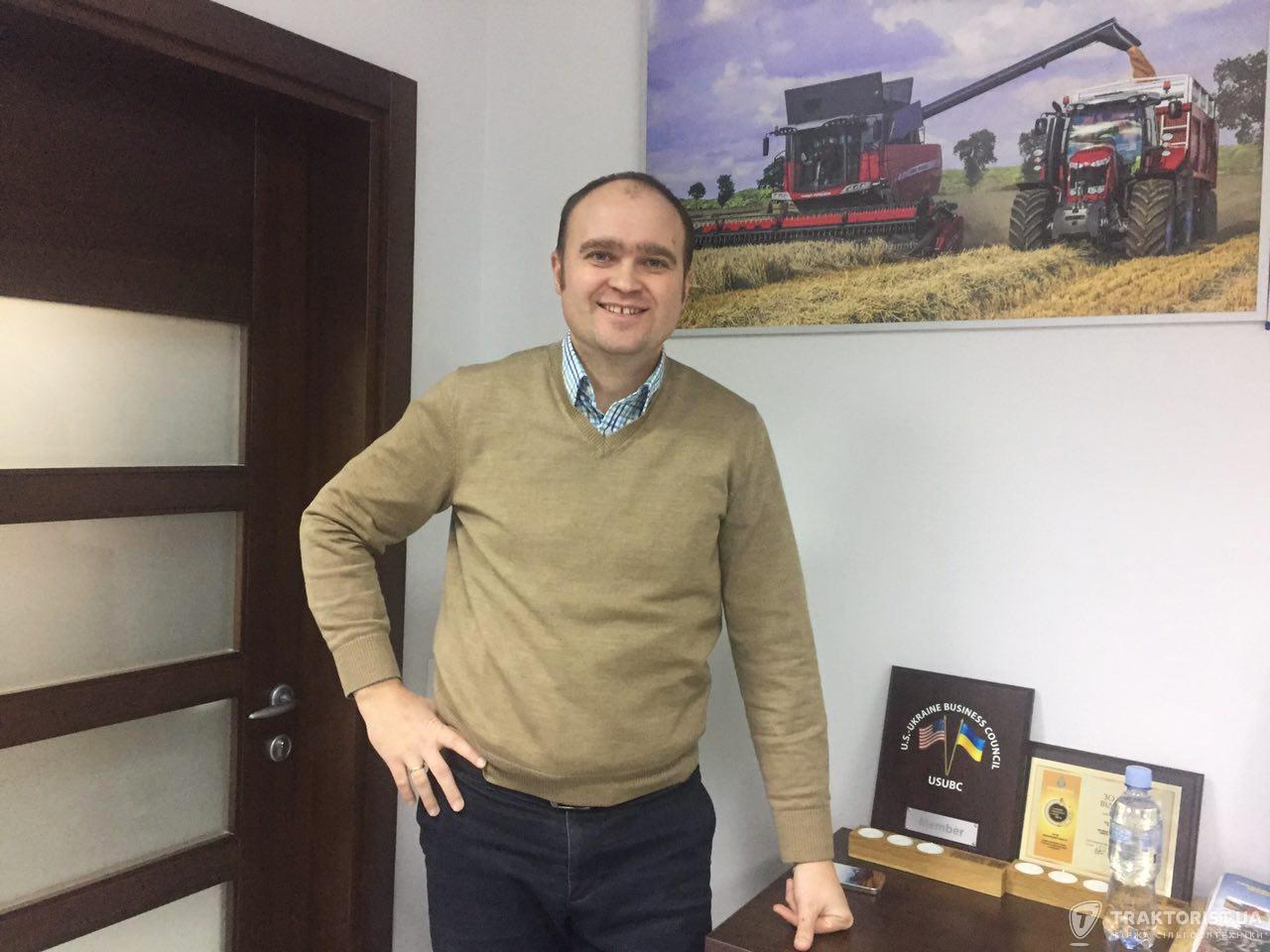 Менеджер з розвитку бізнесу України в Massey FergusonЮрій Войцехович