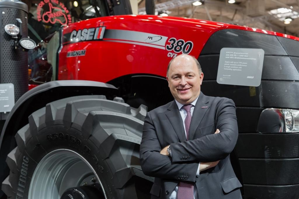 Андреас Клаузер, Президент компанії Case IH