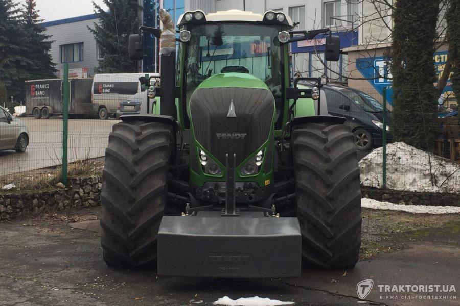 Трактор Fendt на майданчику «Агроструктури»