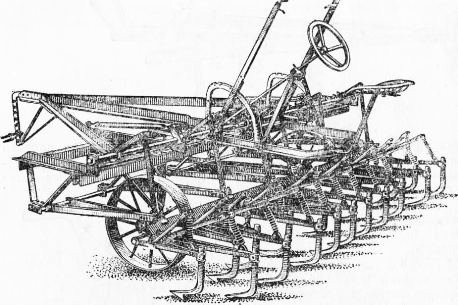 Тракторний багаторядний культиватор KVTC-2,8